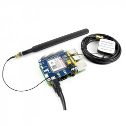 HAT for Raspberry Pi GNSS Positioning Module Support LTE CAT4