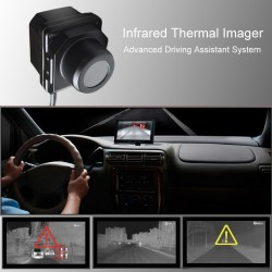 Infrared thermal imaging Car Night Vision Camera