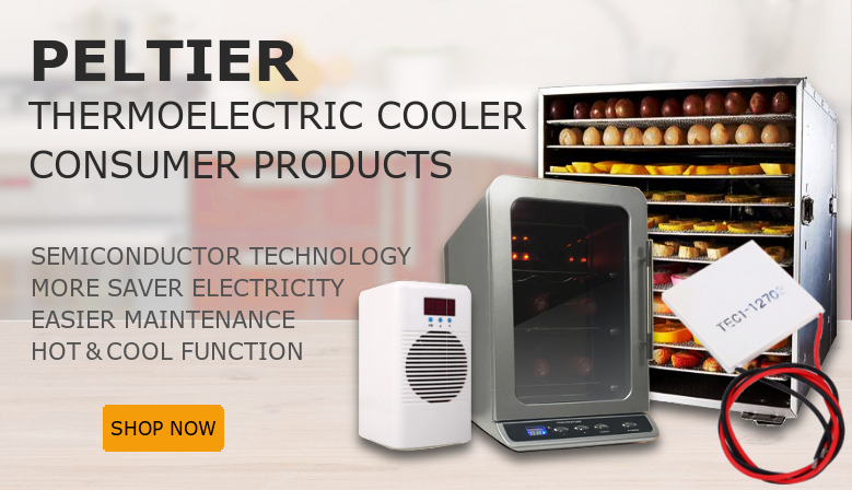Peltier Thermoelectric Consumer Products